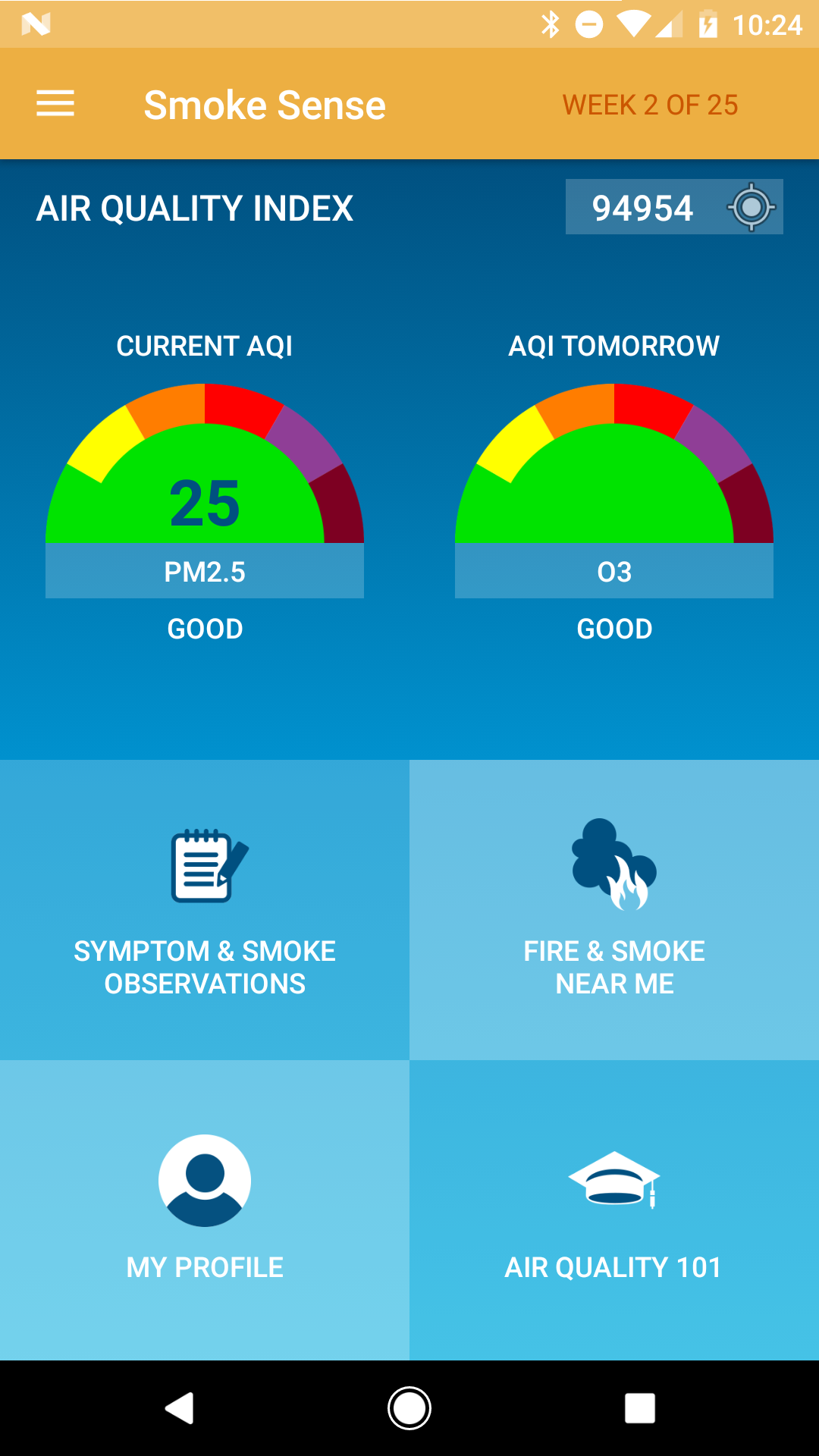 Smoke Sense Study Mobile App Design and Development