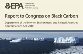Publication of the Black Carbon Report to Congress