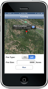 Mobile App Helps Burn Managers Assess Air Quality Impacts