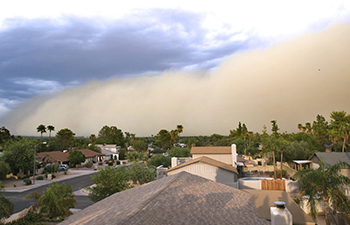 Exceptional Events Analysis of Wind-Blown Dust Impacts on PM in Arizona
