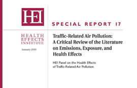 STI Scientist Reviews Traffic Pollution and Health Impacts