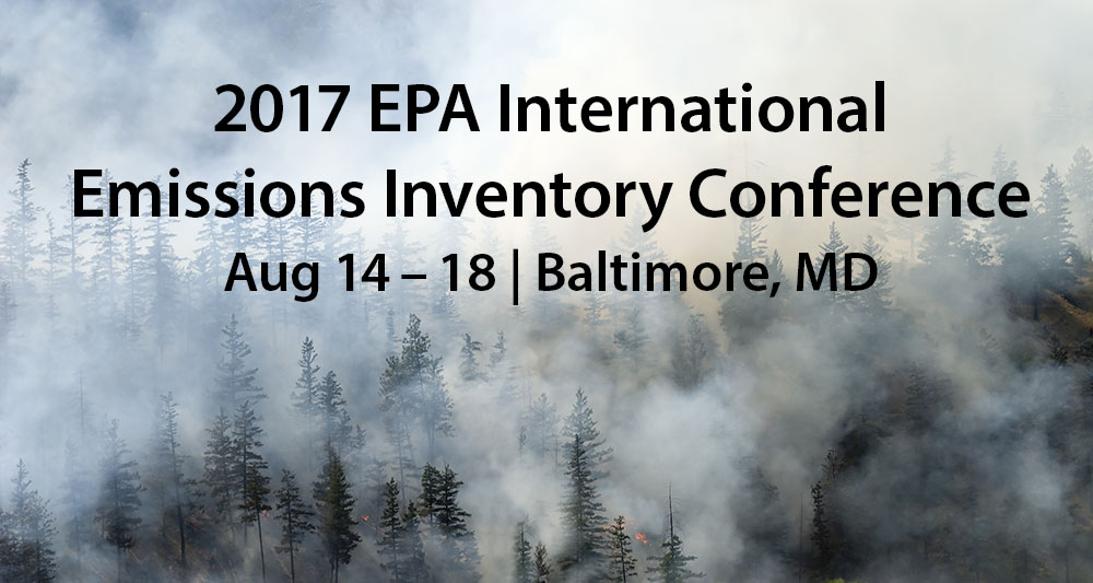 STI at the 2017 International Emissions Inventory Conference