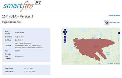 Integrating Satellite Data and Ground Reports to Identify Fire Locations