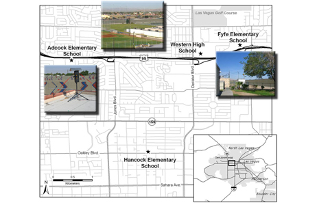Evaluating Children's Exposure to Freeway Air Pollution in Las Vegas