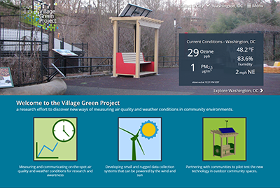 Village Green Project: Engaging Communities in Air Pollution Awareness