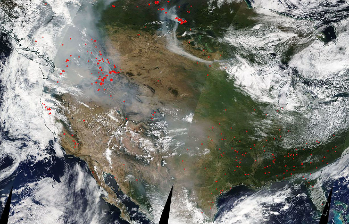 Exceptional Event Analysis: Wildfire Smoke from the Pacific Northwest Impacted Ozone Concentrations in Louisiana
